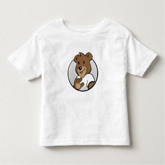 Bärndetektiv Monty feiner Jersey T - Shirt