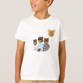 Bärndetektive ilustration TAGLESS® T - Shirt