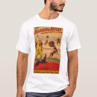 Barnum u. Bailey - erstaunliche Fußball-Hunde T-Shirt