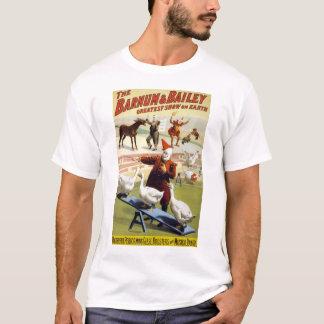 Barnum u. Bailey - wunderbare darstellende Gänse T-Shirt