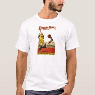 Barnum und Bailey: Fußball-Hunde T-Shirt