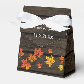 Barnwood rustikaler Hochzeit im Geschenkkartons
