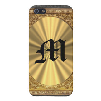 Barock und Gold iPhone 5 Hüllen