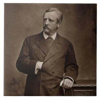Baron Nils Adolf Erik Nordenskjold (1832-1901), Keramikfliese