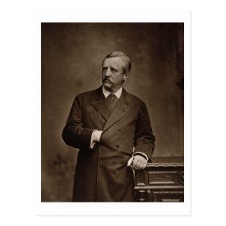 Baron Nils Adolf Erik Nordenskjold (1832-1901), Postkarte