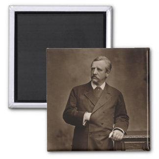 Baron Nils Adolf Erik Nordenskjold (1832-1901), Quadratischer Magnet