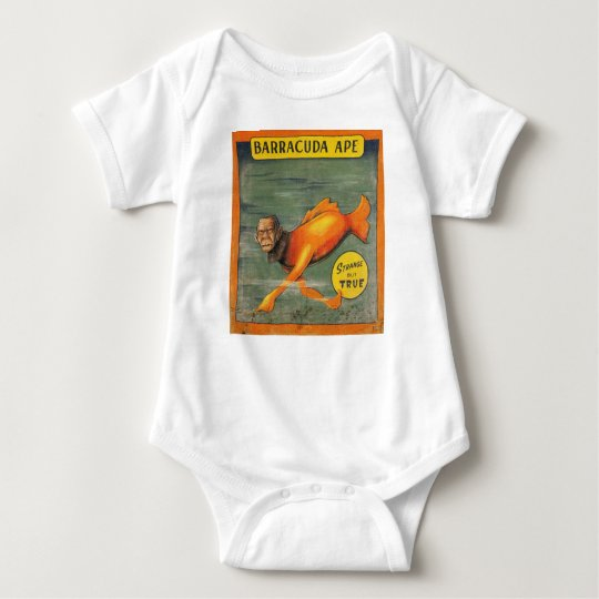 Barracuda-Affe Baby Strampler