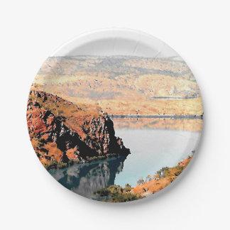 Barramundi Bucht Pappteller 17,8 Cm