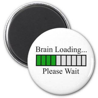Barre de chargement de cerveau magnet rond 8 cm