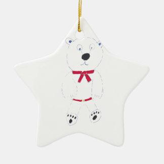 Barry-Stern-Weihnachtsbaum-Dekoration Keramik Stern-Ornament