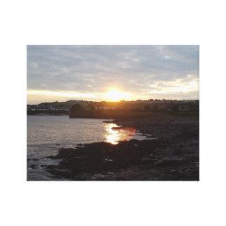 Barry-Strand-Sonnenuntergang Leinwanddruck