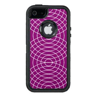 Bärte auf violettem Entwurf OtterBox iPhone 5/5s/SE Hülle