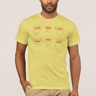 Bärtiger Affe T-Shirt
