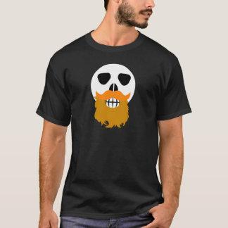Bärtiger Schädel T-Shirt