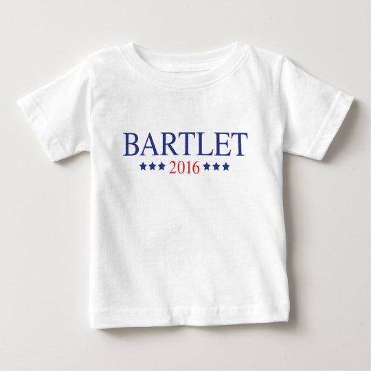 Bartlet 2016 - Blau Baby T-shirt