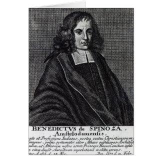 Baruch de Spinoza Karte
