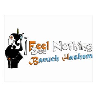Baruch Hashem Postkarte