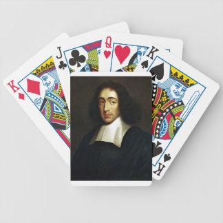 Baruch Spinoza Bicycle Spielkarten