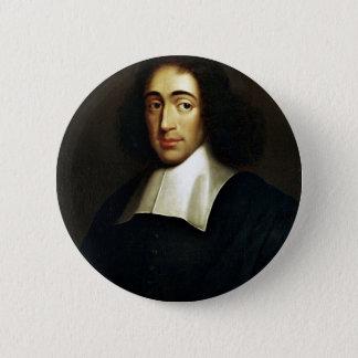 Baruch Spinoza Runder Button 5,1 Cm