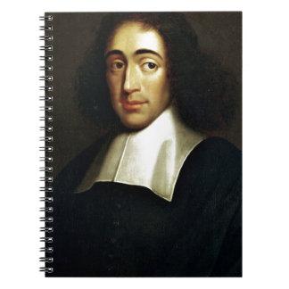 Baruch Spinoza Spiral Notizblock