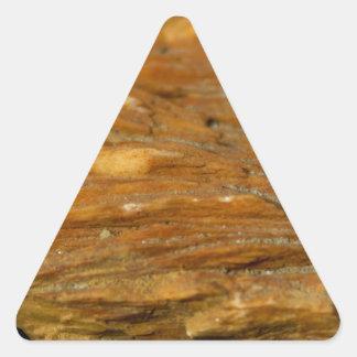 Baryt-Foto mit Haube Dreieckiger Aufkleber