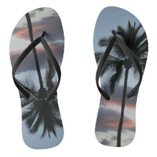 Bascules électroniques de surfer de palmier tongs