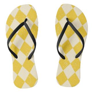 Bascules électroniques jaunes de carnaval tongs