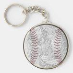 Base-ball Porte-clés