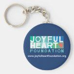 Base joyeuse Keychain de coeur Porte-clés