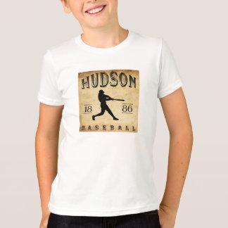 Baseball 1886 des Hudsons New York T-Shirt