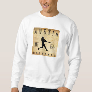 Baseball 1888 Austins Texas Sweatshirt