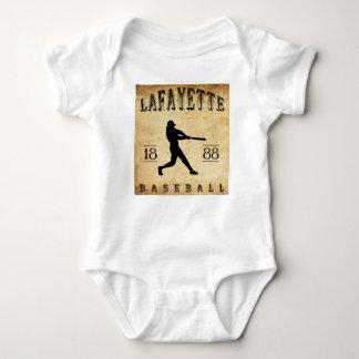 Baseball 1888 Lafayettes Indiana Baby Strampler