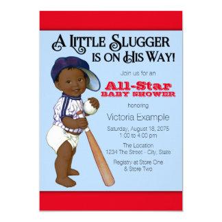 Baseball-Babyparty 12,7 X 17,8 Cm Einladungskarte