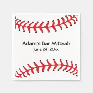Baseball-Entwurfs-Papierservietten Papierserviette
