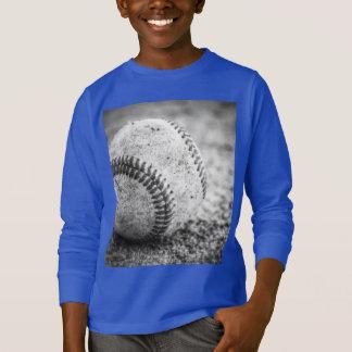Baseball in Schwarzweiss T-Shirt