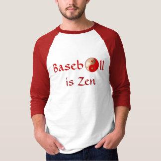 """""""Baseball ist das Shirt der Zen"""" Männer"""