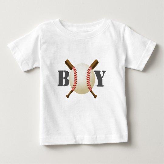 Baseball-Jungen-All-Star- Sport-Thema Baby T-shirt