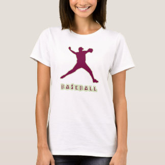 Baseball-Krug-Frauen-T - Shirt