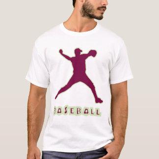 Baseball-Krug-Weiß-T - Shirt