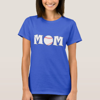Baseball-Mamma-Namen-und Jersey-Zahl-Gewohnheits-T T-Shirt