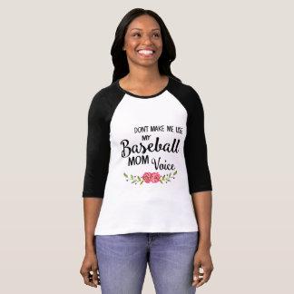 Baseball-Mamma-SprachShirt T-Shirt