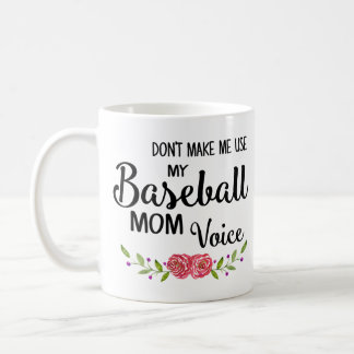 Baseball-Mamma-Stimme Tasse