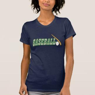 Baseball mit Ball des Schläger-n T-Shirt
