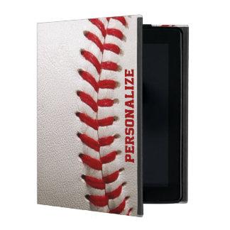 Baseball mit dem Rot-Nähen und personalisiertem iPad Schutzhülle