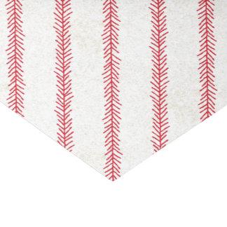 Baseball-Stich-Seidenpapier Seidenpapier