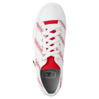 Baseball-Stich Zipz niedrige Spitzenschuhe Niedrig-geschnittene Sneaker