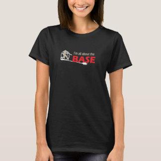 Baseball-T-Shirt - ich bin ganz über die BASIS T-Shirt