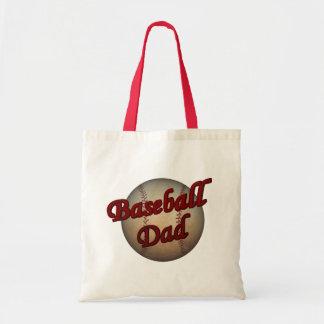 Baseball-Vati Tragetasche