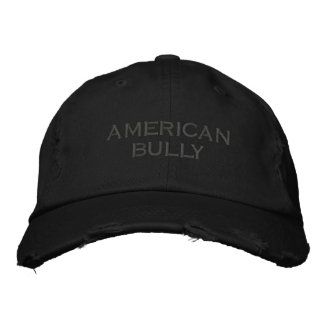 Baseballcap American Bully Casquette Brodée