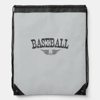 Baseballdrawstring-Rucksack Turnbeutel